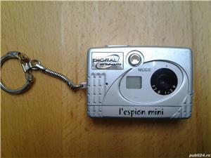 L*espion Mini Digital Camera Breloc - imagine 2