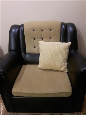 Canapea si fotolii sufragerie - imagine 2