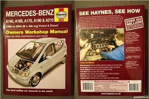 Manual reparatii auto Haynes Mercedes Benz: clasa A anii 1998-2004, C 2000-2007-2014 si E 2002-2010 - imagine 1