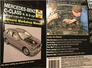 Manual reparatii auto Haynes Mercedes Benz: clasa A anii 1998-2004, C 2000-2007-2014 si E 2002-2010 - imagine 2
