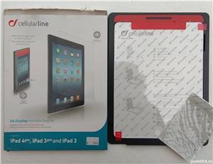 pelicula film protector tableta folie protectie ipad 4, ipad 3, ipad 2 - imagine 1