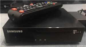 Vând avantajos 3(trei bucăți) Receptor Romtelecom TV HD Telekom TV Samsung HD - imagine 2