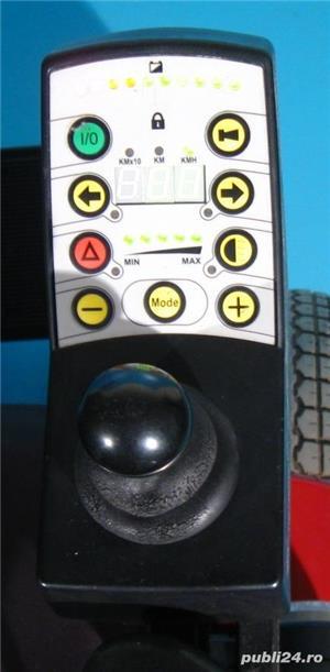 Carucior electric invalizi Meyra Optimus 1 - 6 km/h - imagine 5