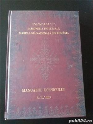 Manualul ucenicului Ovidiu Gales, Cristian Gherasim Masoneria Marea Loja Nationala din Romania - imagine 1