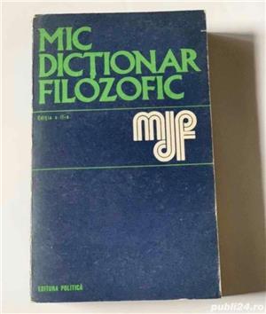 Mic dictionar filozofic, Editura: Politica - imagine 1