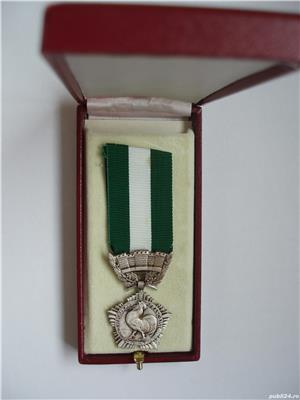 MEDALIE FRANTA - M daille d'honneur r gion. d partement. et comm. 1965 , MARCATA - imagine 3