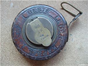 RULETA VINTAGE (1930) - MASSI BESTE LEDER KAPSEL 10M - imagine 1