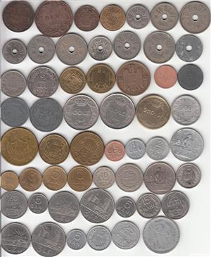 ROMANIA - COLECTIE 148 MONEDE DIFERITE DE LA  5 BANI 1867 - LA 50 BANI 2019  L9 - imagine 1