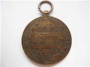 MEDALIE FRANZ JOSEPH SIGNUM MEMORIAE 1848-1898 - imagine 2