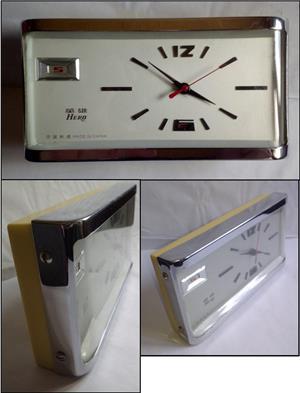 Ceas de masa Hero, made in China, anii '80, funcțional - imagine 2