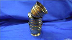 Cupe/jardiniere vechi din bronz - imagine 6