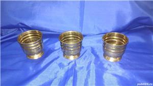 Cupe/jardiniere vechi din bronz - imagine 3