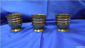 Cupe/jardiniere vechi din bronz - imagine 5