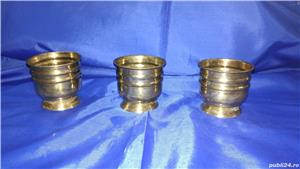 Cupe/jardiniere vechi din bronz - imagine 2