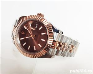 Rolex Datejust 41 Rose Gold/Steel Chocolate ! ! Calitate Premium ! - imagine 5