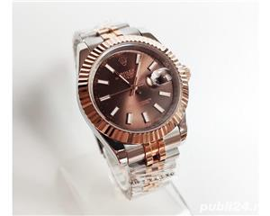 Rolex Datejust 41 Rose Gold/Steel Chocolate ! ! Calitate Premium ! - imagine 2