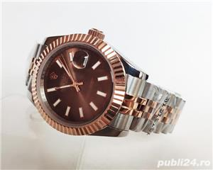 Rolex Datejust 41 Rose Gold/Steel Chocolate ! ! Calitate Premium ! - imagine 4