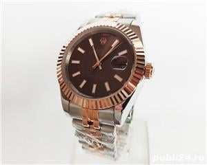 Rolex Datejust 41 Rose Gold/Steel Chocolate ! ! Calitate Premium ! - imagine 3