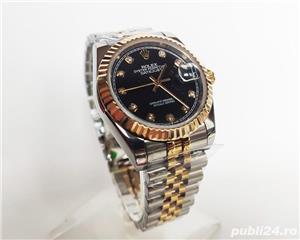 Rolex DateJust Bi-Metal Black Diamond Dial! Calitate Premium ! - imagine 2
