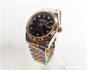 Rolex DateJust Bi-Metal Black Diamond Dial! Calitate Premium ! - imagine 3