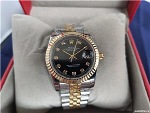 Rolex DateJust Bi-Metal Black Diamond Dial! Calitate Premium ! - imagine 8