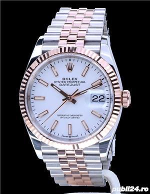 Rolex Datejust 36 Rose Gold/Steel White Index Dial! Calitate Premium ! - imagine 1