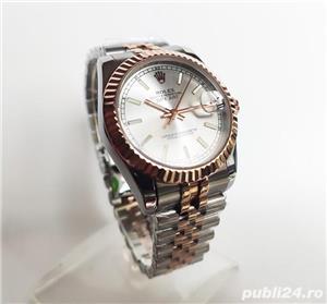 Rolex Datejust 36 Rose Gold/Steel White Index Dial! Calitate Premium ! - imagine 2