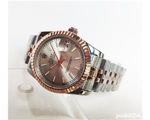 Rolex Datejust 36 Rose Gold/Steel White Index Dial! Calitate Premium ! - imagine 4