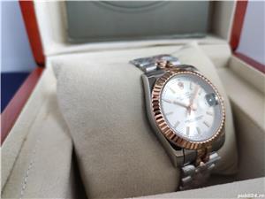 Rolex Datejust 36 Rose Gold/Steel White Index Dial! Calitate Premium ! - imagine 8