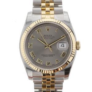 Rolex Datejust Grey Dial Gold/Steel! Calitate Premium ! - imagine 1