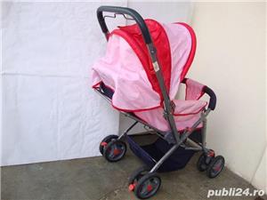 Carucior pliabil pentru fetita / Carut pentru fetita - imagine 4