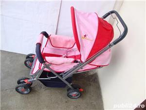 Carucior pliabil pentru fetita / Carut pentru fetita - imagine 2