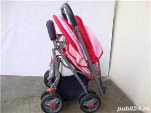 Carucior pliabil pentru fetita / Carut pentru fetita - imagine 5