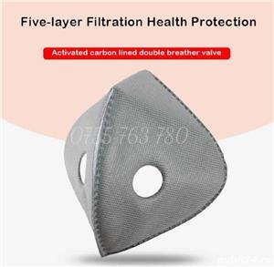 Mască protecție cu filtru de carbon - imagine 4