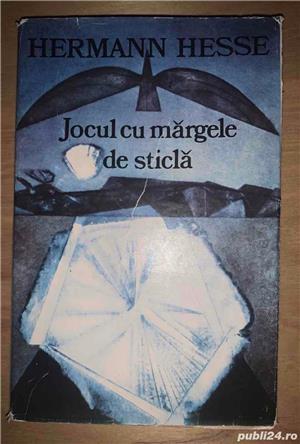 Hermann Hesse:  Jocul cu margele de sticla  si  Lupul de stepa  - imagine 4