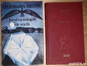 Hermann Hesse:  Jocul cu margele de sticla  si  Lupul de stepa  - imagine 1