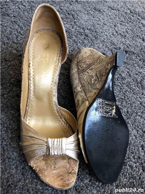 Sandale mar 36, full piele - imagine 10