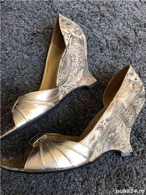 Sandale mar 36, full piele - imagine 8