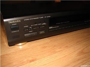 Tuner Technics ST-GT550 cu RDS si antena AM FM manual - imagine 4