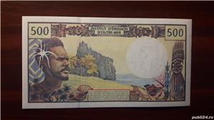 Colectionar, vand bancnote din Teritoriile Franceze din Pacific (Tahiti) - imagine 2