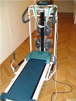 Aparat de gimnastică combinat: banda de alergat, bicicletă, banca pentru exerciții (nefolosit-nou) - imagine 1