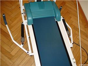 Aparat de gimnastică combinat: banda de alergat, bicicletă, banca pentru exerciții (nefolosit-nou) - imagine 6