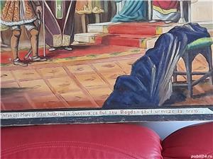 Tablou pictat pe pinza, semnat Kusofsky G. 1931 (1x0,7m) - imagine 3