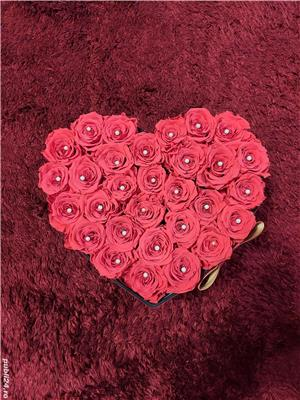 Inima trandafiri criogenati - imagine 2