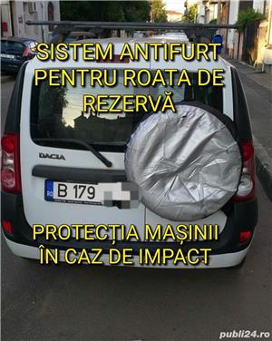 Suport exterior pentru roata de rezerva Dacia Logan MCV/ VAN/ DOKKER  - imagine 5