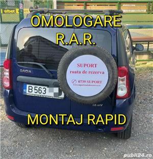 Suport exterior pentru roata de rezerva Dacia Logan MCV/ VAN/ DOKKER  - imagine 2