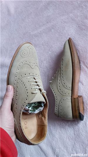 Pantofi piele naturala Poetry/40 - imagine 2