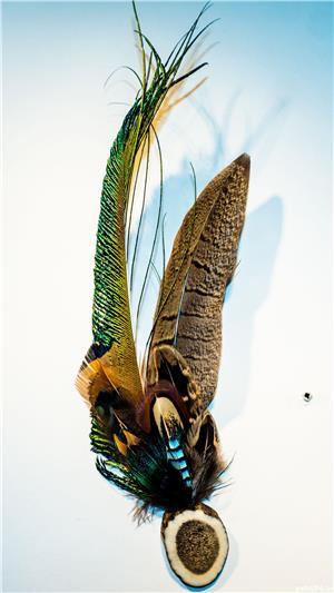 Ornament palarie vanator - imagine 1