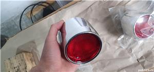 Stop de culoare crom, pentru Aprilia sr 50, sr 150 - imagine 3