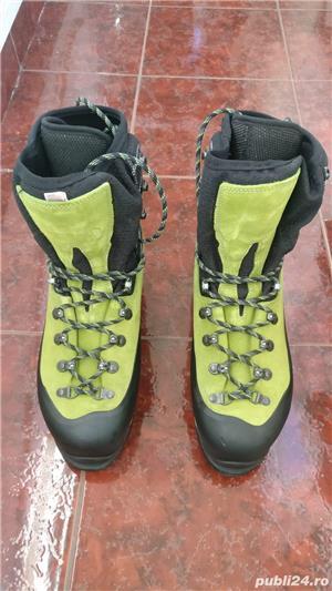 Vand bocanci tehnici (alpinism) LOWA WEISSHORN GTX marimea 44  - imagine 3